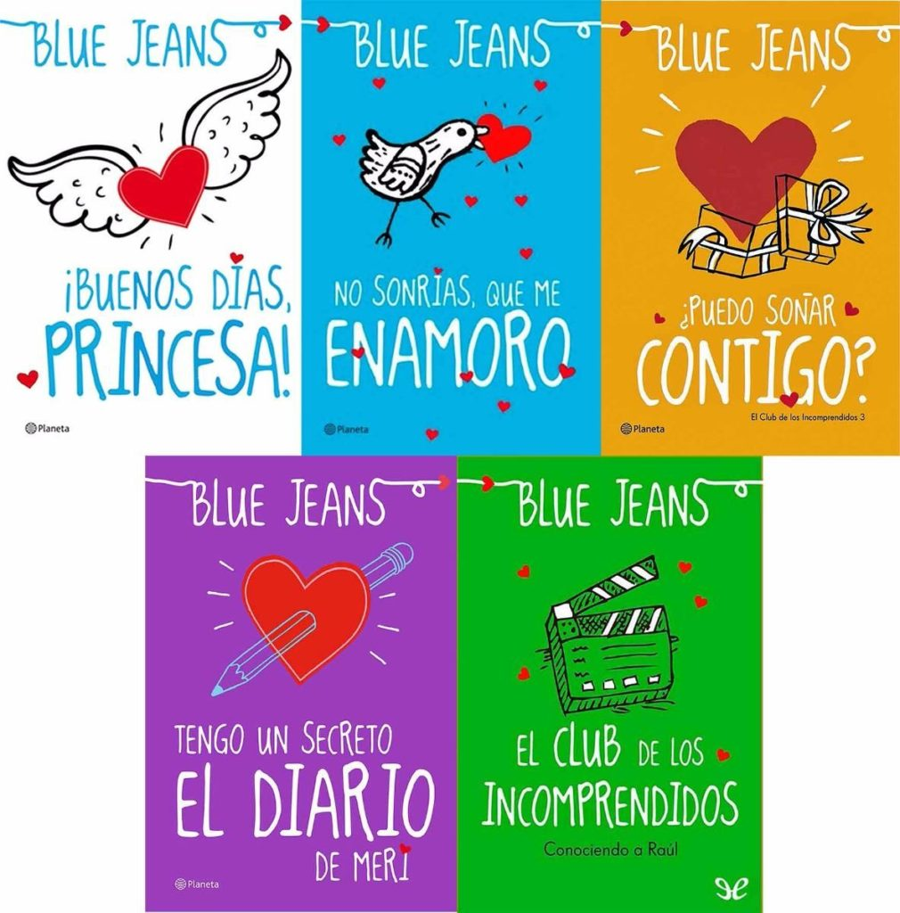 el club de los incomprendidos blue jeans